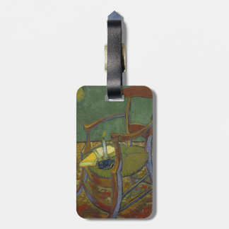 Gauguins Chair by Vincent Van Gogh Luggage Tag