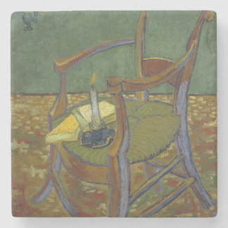 Gauguin's Chair by Vincent Van Gogh Stone Coaster
