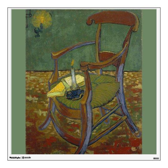 Gauguins Chair by Vincent Van Gogh Wall Sticker