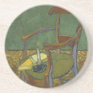 Gauguin's chair drink coaster