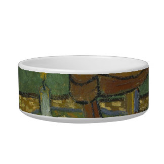 Gauguin's chair cat water bowls