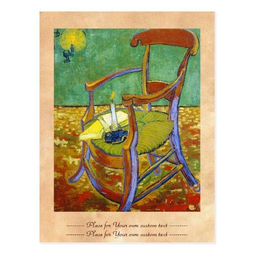 Gauguin's Chair vincent van gogh painting Postcard