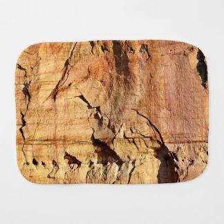 Gauja National Park Sedimentary Rock Burp Cloth