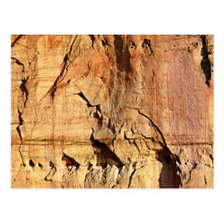 Gauja National Park Sedimentary Rock Postcard