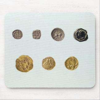 Gaulish coins, c.750-0 BC Mouse Pad