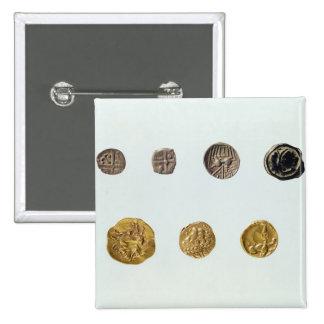Gaulish coins, c.750-0 BC Pinback Button