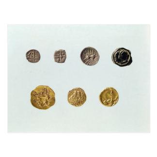 Gaulish coins, c.750-0 BC Postcard