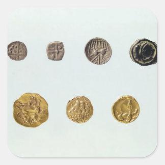 Gaulish coins, c.750-0 BC Square Sticker