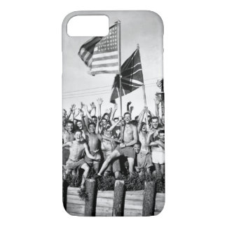Gaunt allied prisoners of war at Aomori_War Image iPhone 7 Case