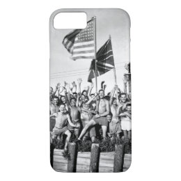 Gaunt allied prisoners of war at Aomori_War Image iPhone 8/7 Case