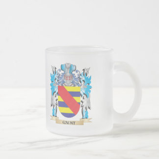 Gaunt Coat of Arms - Family Crest 10 Oz Frosted Glass Coffee Mug