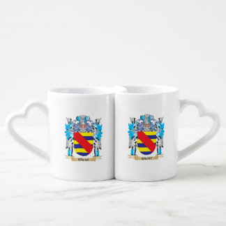 Gaunt Coat of Arms - Family Crest Couples' Coffee Mug Set