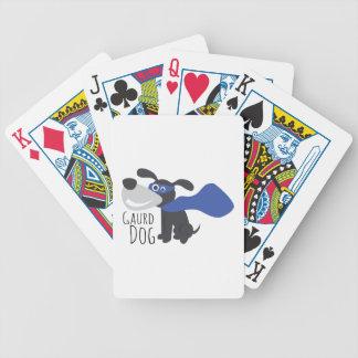 Gaurd Dog Bicycle Playing Cards