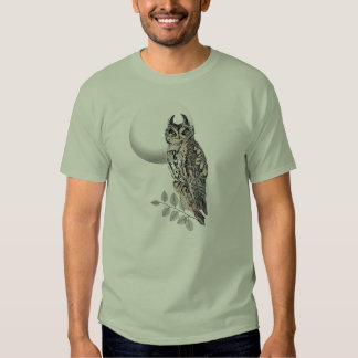 Gaurdian- Great Horned Owl T-shirts