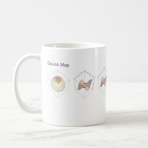 Gauss Map Coffee Mug