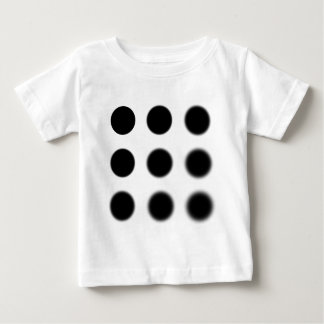 Gaussian 9 grid.png baby T-Shirt