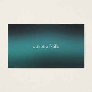Gaussian Turquoise Business Card