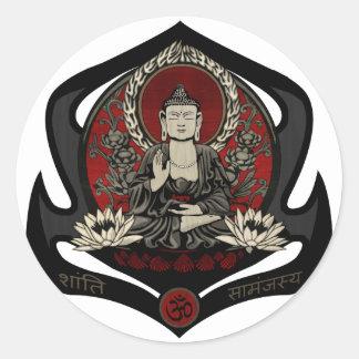 Gautama Buddha Classic Round Sticker