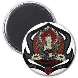 Gautama Buddha Imán Para Frigorifico