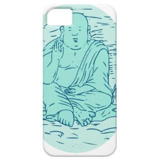 Gautama Buddha Lotus Pose Drawing iPhone SE/5/5s Case