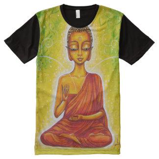 Gautama Buddha Playeras Con Estampado Integral