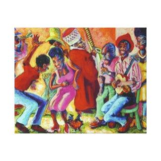 Gauteng Township Canvas Print