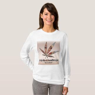 GAV Dank Edition L-Sleeved T by #GrindAndVape T-Shirt