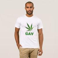 GAV Logo Print T-Shirt