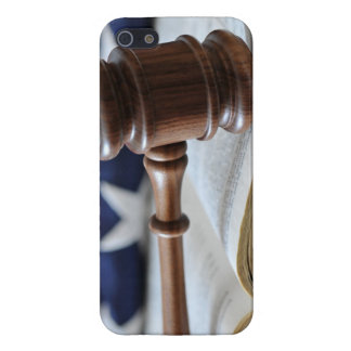 Gavel atop book iPhone 5 cases