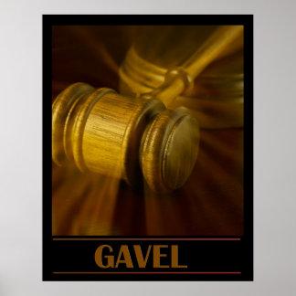 Gavel Poster