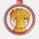 Gavilla de Jesse del ornamento #1 del trigo Ornato