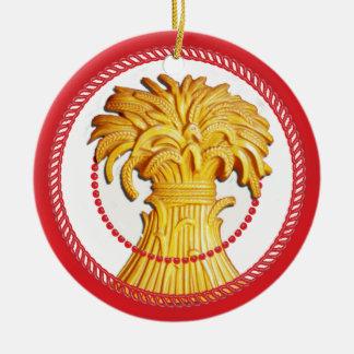 Gavilla de Jesse del ornamento 2 del trigo Ornamento De Reyes Magos