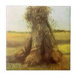 Gavillas de trigo de Vincent van Gogh Tejas Cerámicas