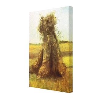 Gavillas de trigo de Vincent van Gogh