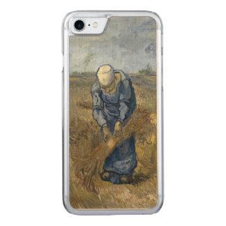 Gavillas obligatorias de la mujer campesina de funda para iPhone 7