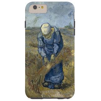 Gavillas obligatorias de la mujer campesina de Van Funda Resistente iPhone 6 Plus
