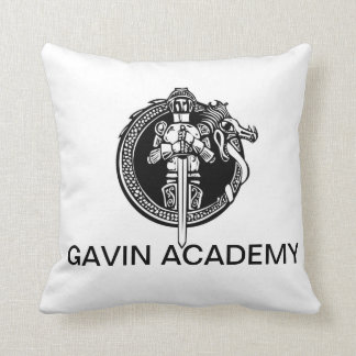 Gavin Academy Throw Pillow