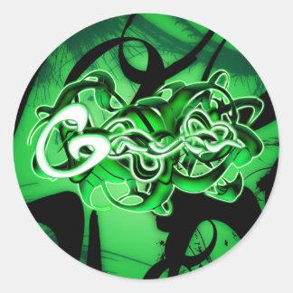 Gavin Classic Round Sticker