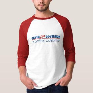 Gavin for Governor Tee Shirt