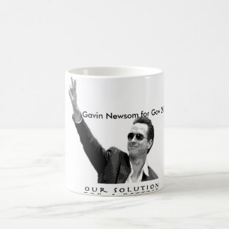 Gavin Newsom for Gov 2010 Coffee Mug