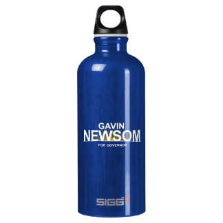 Gavin Newsom for Governor Aluminum Water Bottle