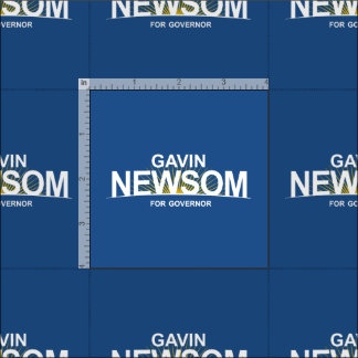 Gavin Newsom for Governor Fabric
