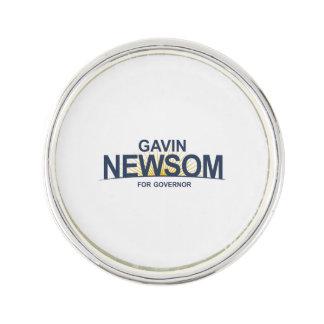 Gavin Newsom for Governor Pin