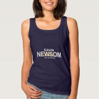 Gavin Newsom for Governor Tank Top