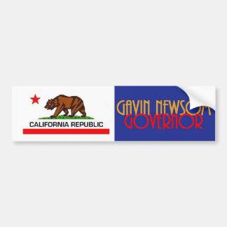 Gavin NEWSOM Governor 2018 Bumper Sticker