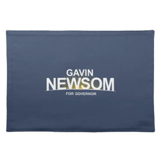 Gavin Newsom para el gobernador Mantel Individual