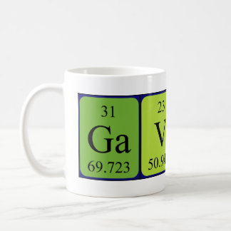 Gavin periodic table name mug