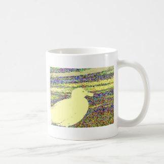 Gaviota amarilla taza de café