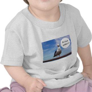 gaviota crédula camisetas