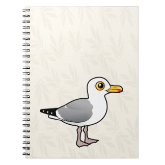 Gaviota de arenques de Birdorable Notebook